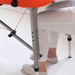 massageliege massagetisch therapieliege aluliege berlin 76 cm promafit ebay. Black Bedroom Furniture Sets. Home Design Ideas